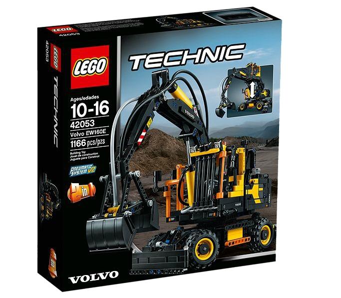 LEGO Technik Volvo EW160E