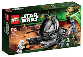 Lego Star Wars Battle Droid BLAU Figur mit Blaster Waffe aus Set 75015 LEGO Minifiguren