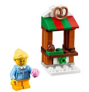 Lego Weihnachtsmarkt.Lego Weihnachtsmarkt 40263